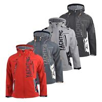 Mens Jacket Geographical Norway Softshell Toublerona Outdoor Sport Coat(,)