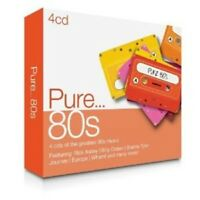 PURE...80S 4 CD NEW! MIT TOTO, SADE, WHAM!, PAUL YOUNG UVM.