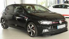 Rieger CUP Spoilerlippe SCHWARZ für VW Polo AW GTI R-Line Frontspoiler Schwert
