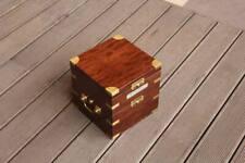 Marine ship chronometer Box hamilton model 21