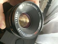 Panagor 90mm F2.8 PMC multi coated AUTO MACRO for Canon FD mount