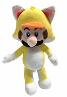 Super Mario Brothers Mario Cat 12 Inch Stuffed Plush Toy Figure NWT