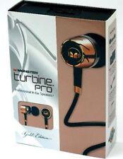 Monster Turbine Pro Gold Audiophile In Ear Speaker with ControlTalk 89866da7d415