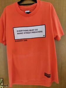 Manic Street Preachers rare tour t shirt