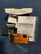 Panasonic LUMIX DMC-TS25D Waterproof Digital Camera with 2.7-Inch LCD (Orange)