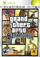 """Xbox Platinum Hits Game - Grand Theft Auto: San Andreas """"M"""" Version Complete"""