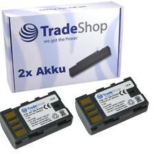 Batería 2x para jvc everio bn-vf808u bn-vf815u bn-vf823u talla-D