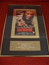 Rare British Videogram Association Gold Performance Award Salvador Dec 1987