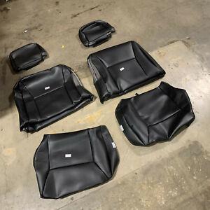 2006-13 Chevrolet Impala Custom Black Leatherette Front Seat Covers GTC1155ABLT