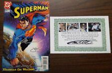 Superman #205 Variant signed Turner Steigerwald Williams & Lee with Cert of Auth