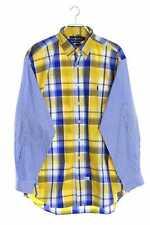 RALPH LAUREN kariertes Button-down-Hemd mit Streifen L multicolor Karohemd