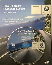 04 05 06 BMW 745i 745Li 760i 760Li SEDAN NAVIGATION MAP CD DVD 2007.2 US CANADA