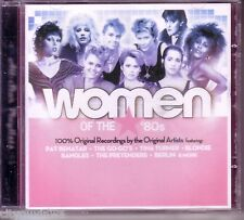 WOMEN OF THE 80s Various Artists CD Toni Basil Missing Persons Nena Pop New Wave