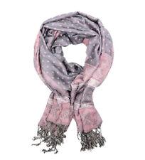 Bufandas y pañuelos de mujer pashminas grises