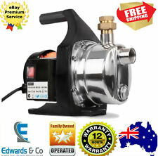 1500W Weatherproof Garden Water Pump 240V Electric High Pressure Tank Irrigation