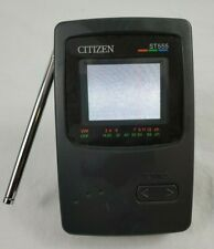 """VINTAGE Citizen ST555 2"""" LCD COLOR Television TESTED"""