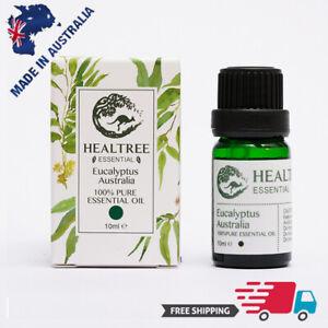 HEALTREE Eucalyptus Australian Essential Oil 10ml, 100% Pure Natural Purify Air