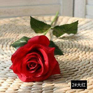 Decor Latex Flower Office Bouquet Real Home 20/10Heads Wedding Rose Touch Bridal