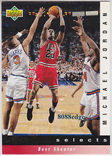"1992-93 UPPER DECK JERRY WEST SELECTS: MICHAEL JORDAN #JW1 ""BEST SHOOTER"""