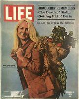 Vintage LIFE Magazine Khrushchev Stalin Beria December 11 1970 Vol. 69 No. 24