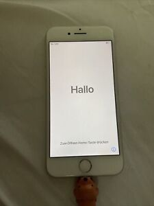 Apple iPhone 8 - 64GB - Silver (AT&T) BACK GLASS CRACKED