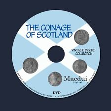 The coinage of Scotland – Vintage E-books 3 Volumes PDF on 1 DVD, Coin, Money
