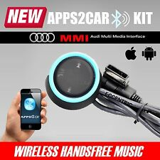AUDI AMI MMI MDI APPS2CAR BLUETOOTH CAR KIT MUSIC STREAMING HANDSFREE CALLING