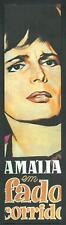 Amalia Rodriguez ( Fado - Portogallo ) 3° - Segnalibro / Bookmark / Lesezeichen
