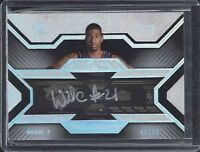 WILSON CHANDLER 2007-08 UD BLACK TICKET AUTOGRAPHS ON CARD ROOKIE AUTO RC #D /50