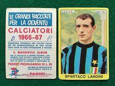 CALCIATORI 1966/67 66/1967 INTER Spartaco LANDINI Figurina Sticker Panini (NEW b