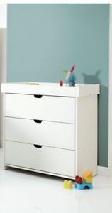 BRAND NEW RRP £289 Mamas & Papas Rocco Chest of Drawers with Changer - White