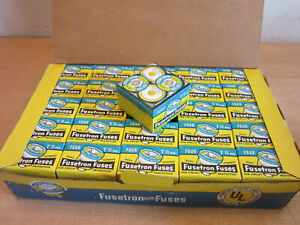 1 case Lot of 100 vintage NOS unused in boxes Fusetron Fuses T 15 amp
