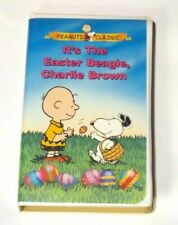 It's The Easter Beagle Charlie Brown Peanuts Classics Vhs tape