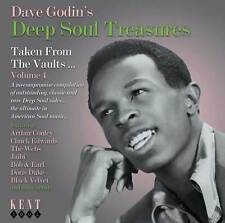 Dave Godin's Deep Soul Treasures Vol 4 (CDKEND 230)
