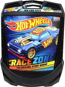 Hot Wheels 100 Car Carrying Case Matchbox Box Storage Kids New