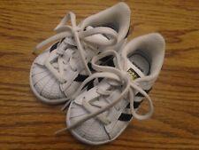 Adidas  Ortholite size 4K white & navy blue infant athletic shoes NEW