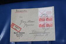 ZD R-Brief  Chemnitz 1932 mit Einlieferungschein ! Selten ! ( s-702d)