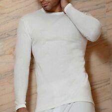 3 Maglie Intime UOMO in Caldo Cotone T-shirt sotto Manica lunga Marca Italiana