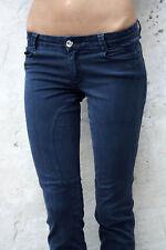 SIVIGLIA Jeans Blu Denim Pantaloni made in italy dritta W28 uk10 Patch