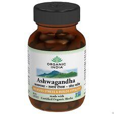 Ashwagandha,120 Veg-Capsules by ORGANIC INDIA for enhance vitality & vigour.