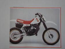 - RITAGLIO DI GIORNALE 1982 MOTO YAMAHA YZ 125