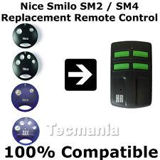 NICE SMILO SM2 SM4 Sostituzione Telecomando Garage Cancello 433.92 MHz ROLLING CODE