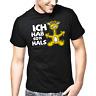 Ich hab so'n Hals Giraffe Comic Cartoon Sprüche Geschenk Lustig Spaß Fun T-Shirt