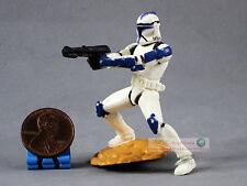 Hasbro Star Wars 1:32 Toy Soldier Figure Republic DC-15 Rifle CLONE TROOPER S181