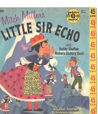 LITTLE MISS ECHO CHILDREN'S PICTURE SLEEVE ONLY---PS---PIC---SLV