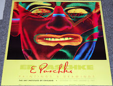 Ed Paschke Poster/The Art Institute of Chicago, October 13, 1990–January 2, 1991