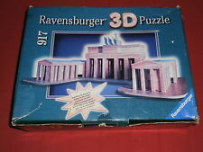 3D Puzzle/JIGSAW, Brandenburger Tor, Ravensburger, Barock+Bauwerke,Teile NEU+OVP