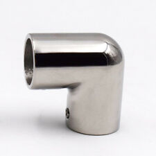 """1 PC 316 Stainless Steel Boat Hand Rail Fitting 90° 7/8"""" Elbow Free Shipping"""