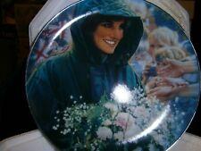 "Diana Princess of Wales ""The Peoples Princess"" 10"" Plate"