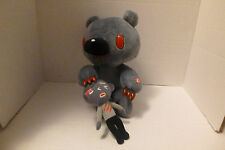 "10"" Gray Gloomy Bear Claw Kigurumi Boy Plush Figure Electronic Raises Paw Prize"